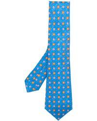 Kiton - Pattern Print Tie - Lyst