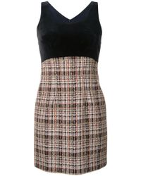 Loveless - Plaid Sleeveless Dress - Lyst