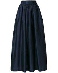 Nehera - Taffeta Maxi Skirt - Lyst