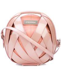 PERRIN Paris - Distressed Circle Clutch Bag - Lyst