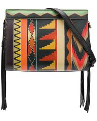 Etro - Geometric Print Shoulder Bag - Lyst
