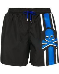 Philipp Plein - Me Now Swim Shorts - Lyst