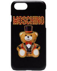Moschino - Custodia per iPhone 8 - Lyst