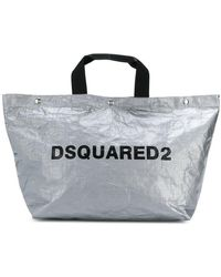 DSquared² - Logo Shopping Tote Bag - Lyst