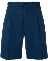 Aspesi - High-waist Chino Shorts - Lyst