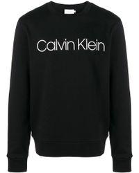 Calvin Klein - Felpa con logo - Lyst