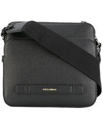 Dolce & Gabbana | Double Compartment Messenger Bag | Lyst