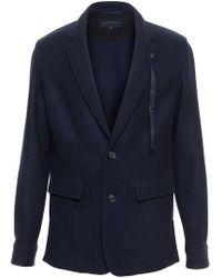 Ann Demeulemeester Grise - Wool Shirt Jacket - Lyst