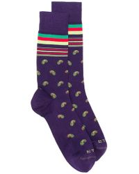 Etro - Paisley Socks - Lyst