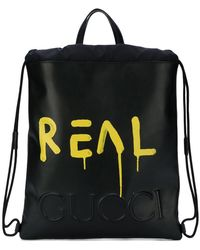 Gucci - Ghost Drawstring Backpack - Lyst