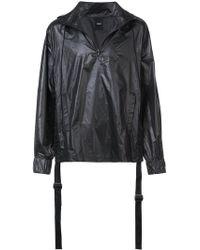 D.GNAK - Tape Shirring Anorak Jacket - Lyst