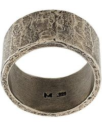 M. Cohen - Embossed Ring - Lyst