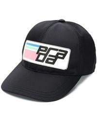 Prada - Logo Baseball Cap - Lyst