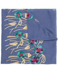 Serpui - Embroidered Scarf - Lyst