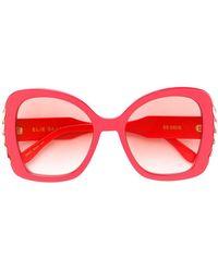 Elie Saab - Oversized Sunglasses - Lyst