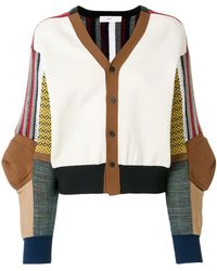 Toga Pulla - Patchwork Knitted Cardigan - Lyst