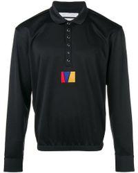 Reebok - Long Sleeved Polo Shirt - Lyst