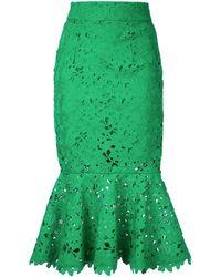 Bambah - Lace Mermaid Skirt - Lyst