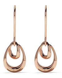 1fe4910c1 Georg Jensen Dew Drop 18kt Yellow Gold And Amethyst Earrings in ...