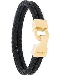 Northskull - Braided Bracelet - Lyst