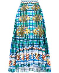 Peter Pilotto - Printed Skirt - Lyst