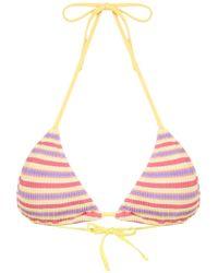 Cecilia Prado - Francisca Knit Triangle Bikini Top - Lyst