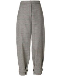 Stella McCartney - Lexi Prince Of Wales Checked Trousers - Lyst
