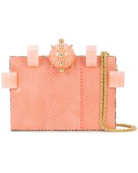 Tonya Hawkes - Embellished Box Clutch - Lyst