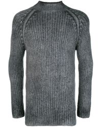 Avant Toi - Overdyed Turtleneck Sweater - Lyst