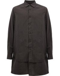 Ziggy Chen - Layered Shirt - Lyst