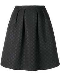 PS by Paul Smith - Dotted A-line Skirt - Lyst
