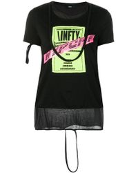 DIESEL - Layered T-shirt - Lyst