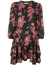 Alice + Olivia - Moore Floral Print Dress - Lyst