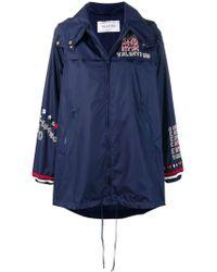 Valentino - Logo Embroidered Jacket - Lyst