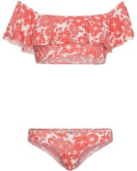 Lisa Marie Fernandez - Bikini a fiori 'Leandra' - Lyst