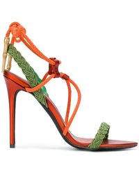 A.F.Vandevorst - Strappy Cord Sandals - Lyst