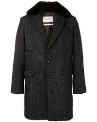 Paltò - Classic Tweed Coat - Lyst