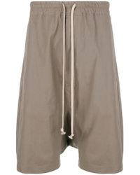 Rick Owens - Forever Rick's Pods Shorts - Lyst
