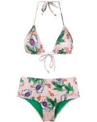 Brigitte Bardot - Hot Pants Bikini Set - Lyst