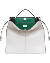 Fendi - Peekaboo X-lite Regular Bag - Lyst