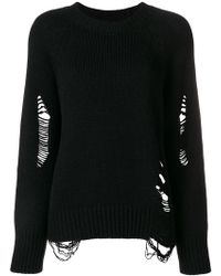 FEDERICA TOSI - Distressed Jumper - Lyst