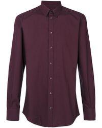 Dolce & Gabbana - Poplin Shirt - Lyst