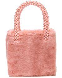 Shrimps - Faux Fur Tote Bag - Lyst
