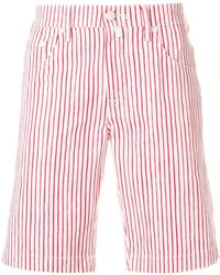 Jacob Cohen | Slim Striped Handkerchief Shorts | Lyst