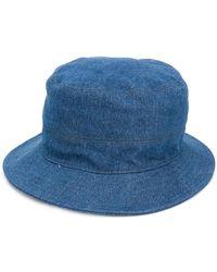 Eleventy - Classic Denim Hat - Lyst