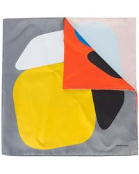 Pierre Hardy - Geometric Colour-block Scarf - Lyst