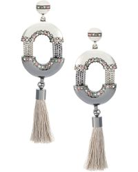 Camila Klein - 'conceito' Tassel Earrings - Lyst