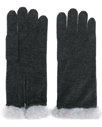 N.Peal Cashmere - Fur-trim Gloves - Lyst