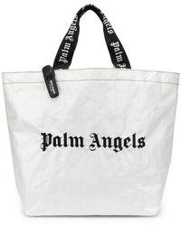 Palm Angels - Classic Logo Shopper - Lyst
