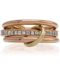 Spinelli Kilcollin - 18k Rose Gold Diamond Ring - Lyst